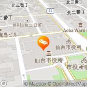 Map Dormy Inn Sendai Annex Sendai, Japan