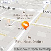 Karta Plaza Hotel Örebro, Sverige