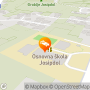 Map Hostel Josipdol Josipdol, Croatia