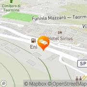 Map Hotel Sirius Taormina, Italy