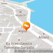 Map Domus Mariae Benessere Syracuse, Italy