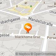 Karte Gapsite Hotel Graz, Österreich