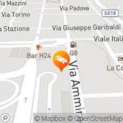 Map Plaza Hotel Villa San Giovanni, Italy