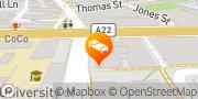 Map Four Points by Sheraton Sydney, Central Park Chippendale, Australia