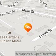 Map Tea Gardens Club Inn Motel Tea Gardens, Australia