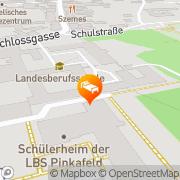 Karte Step Gästehäuser Pinkafeld Pinkafeld, Österreich