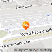 Karta Hostel Above Norrköping, Sverige