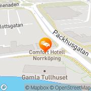 Karta Comfort Hotel Norrköping Norrköping, Sverige