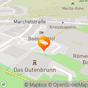 Karte Badener Hof - Gesundheits u Kurhotel Baden, Österreich