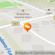 Map Hotel Lipa - Sava Hotels & Resorts Lendava, Slovenia
