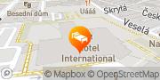 Map BEST WESTERN PREMIER Hotel International Brno**** Brno, Czech Republic