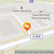 Karta Ibis Hotel Nyköping Nyköping, Sverige