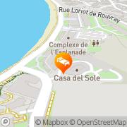 Map Casa Del Sole Noumea, New Caledonia