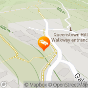 Map Commonage Villas Queenstown, New Zealand