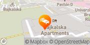 Map Holiday Inn Bratislava Bratislava, Slovakia