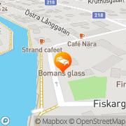 Karta Bomans Hotell & Restaurang Trosa, Sverige