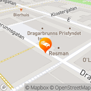 Karta Scandic Uplandia Uppsala, Sverige