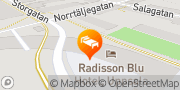 Karta Radisson Blu Hotel, Uppsala Uppsala, Sverige