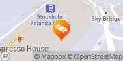 Karta Radisson Blu Airport Terminal Hotel, Stockholm-Arlanda Airport Stockholm, Sverige