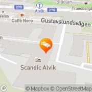 Karta Scandic Alvik Bromma, Sverige
