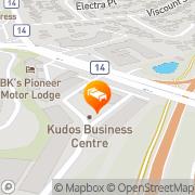 Map Kudos Airport Apartments Auckland, New Zealand