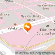 Karta Elite Palace Stockholm, Sverige