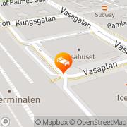 Karta Nordic Light Stockholm, Sverige