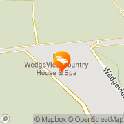 Map Wedgeview Country House & Spa Stellenbosch, South Africa