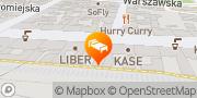 Mapa Best Western Hotel Mariacki Katowice, Polska