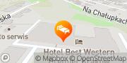 Mapa Best Western Premier Krakow Hotel Kraków, Polska