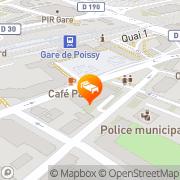 Carte de Hotel Ibis Poissy Poissy, France