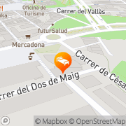 Map Sant Cugat H&R Sant Cugat del Vallès, Spain