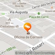 Map Catalonia Castellnou Barcelona, Spain