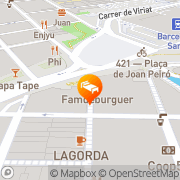 Map Inside-BCN Apartments Sants Barcelona, Spain