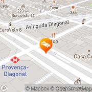 Map Hotel Paseo de Gracia Barcelona, Spain