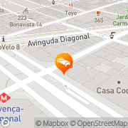 Map Hotel Actual Barcelona, Spain