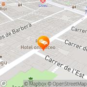 Map Onix Liceo Barcelona, Spain