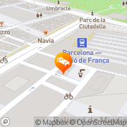 Map Hotel Santa Marta Barcelona, Spain