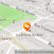 Carte de La Breche du Bois Clamart, France