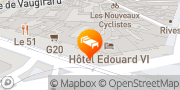 Carte de Hotel Terminus Montparnasse Paris, France