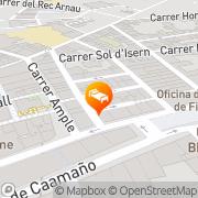 Map Apartaments Ciutat de Figueres Figueres, Spain