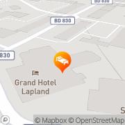 Karta Quality Hotel Lapland Gällivare, Sverige