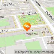 Map Oki Doki Warsaw, Poland