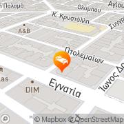 Map Nea Metropolis Thessaloniki, Greece