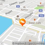 Map Aegli Hotel Volos, Greece