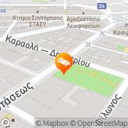 Map Piraeus Theoxenia Hotel Piraeus, Greece