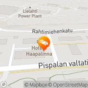 Kartta Hotel Haapalinna Tampere, Suomi