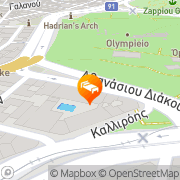 Map Royal Olympic Hotel Athens, Greece