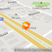 Map Emmantina Hotel Athens, Greece