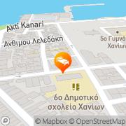 Map Hotel Ideon Chania, Greece